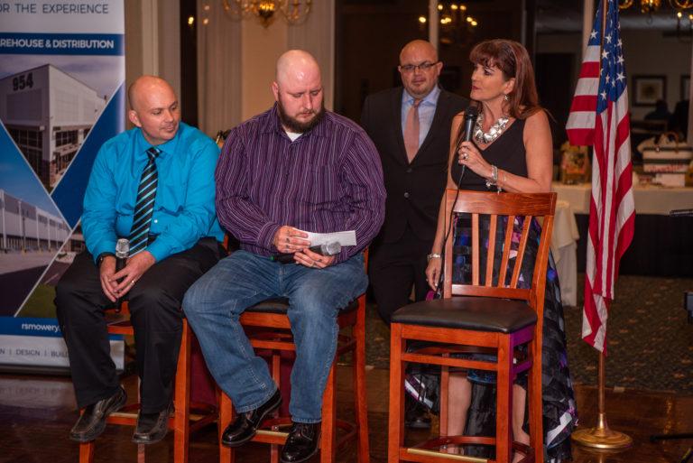Client receiving first Momentum award